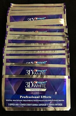 Crest 3D White Professional Whitening Effects Whitestrips (20 pouches/40