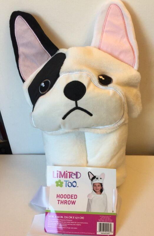 French Bulldog Childrens Hooded Throw