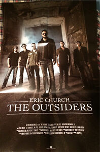 Eric Church: the Outsiders Movie Poster