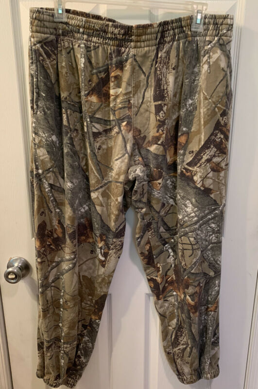 Real tree Outfitters Ridge Camouflage Sweatpants Cotton/Polyester Men Size 2XL