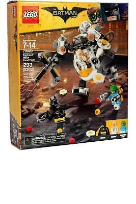 Lego BATMAN #70920 Egghead Mech Food Fight Building Toy Set