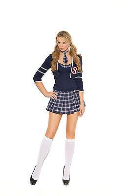 4 Pc.Costume! Plus & Regular Sizes! School Girl Adult Woman](Plus Size School Girl Skirts)