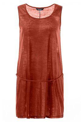 ULLA POPKEN FASHION Trägerkleid aus Jersey rot NEU Kleid, Fashion Kleid