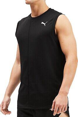 Puma Ignite Mens Running Vest - Black