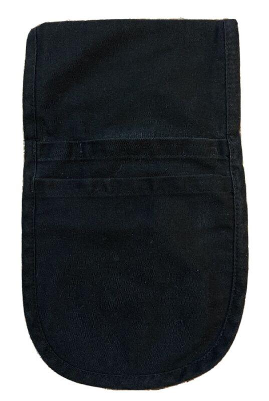 Black MINI Pocket Side Hip Apron Bar Waiter Waitress Money Pouch