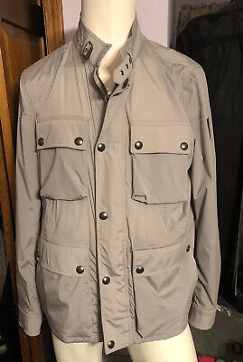 Belstaff Barningham Jacket Men's Size 56 XXXL Ash Grey NWT $850 for sale  Shipping to India