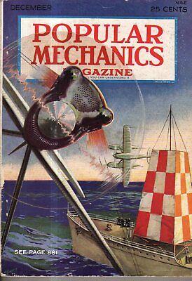 1929 Popular Mechanics December - Making of Toys; Easy chemical tricks; Aviation