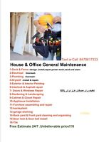 General house maintenance