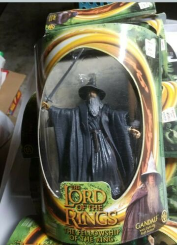 Lord Of The Rings Gandalf Fellowship Of The Rings Action Figure W/Light-Up Staff - $16.00