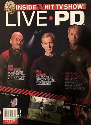 INSIDE THE HIT TV SHOW LIVE PD 2019 MAGAZINE VERY RARE Police Law Enforcement