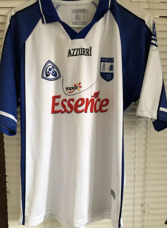 County Waterford GAA Portlairge Ireland  Official Azzurri Hurling Jersey Small