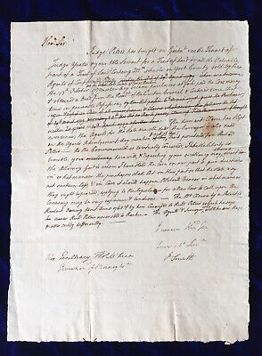 Rare Autograph Letter Signed by James Smith - Signer Declaration of Independence