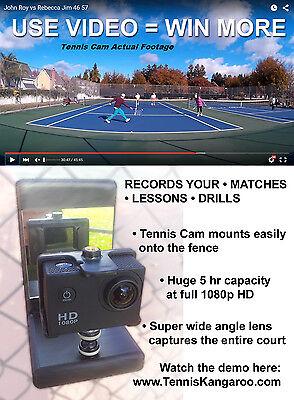 Tennis Cam Fence Mount VideoCam