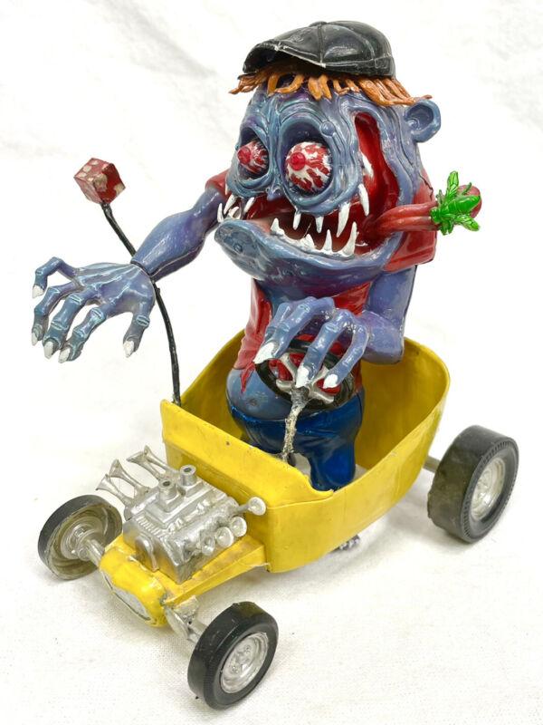 VINTAGE Revell MOTHER'S WORRY Ed Big Daddy Roth MODEL KIT 1963 Rat Fink Built