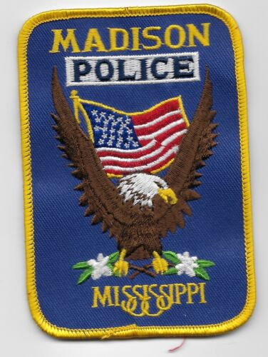 Madison Police State Mississippi Colorful Eagle MS