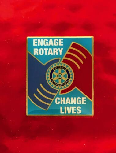 Rotary International Pin   ENGAGE ROTARY , CHANGE LIVES     2013-14  THEME