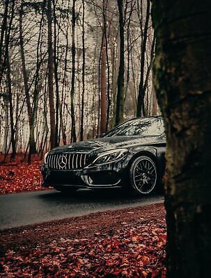 19 Zoll Alufelgen GT1 für Mercedes C-Klasse W205 S205 W204 S204 4x AMG Design