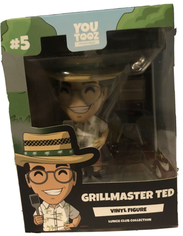 Grillmaster Ted Youtooz Figure