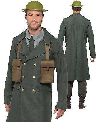 Ww2 Air Raid Direktor Kostüm Uniform Herren World War II Kostüm Offizier