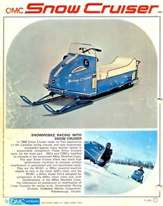 Looking for OMC Snow Cruiser's