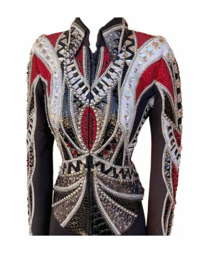 Western Showmanship Pleasure Horsemanship Women Show Jacket Shirt Rodeo Queen