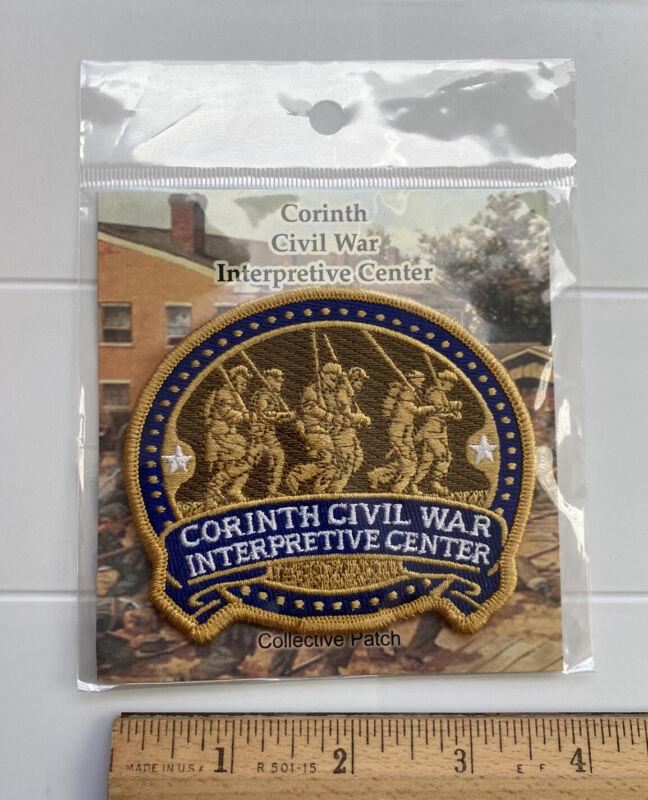 NIP Corinth Crossroads Civil War Interpretive Center Mississippi Souvenir Patch