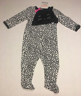 Just One You By Carter's 2 PC My 1st Halloween Outfit Infant Girls Size 9 M New - Carter's My First Halloween Outfit