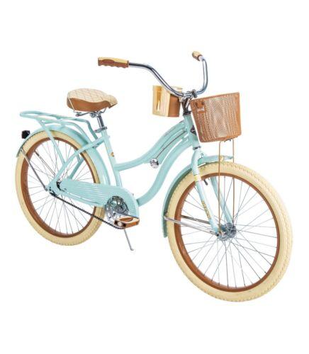 "Huffy Nel Lusso Women's Cruiser Bike - 24"", Mint Green"
