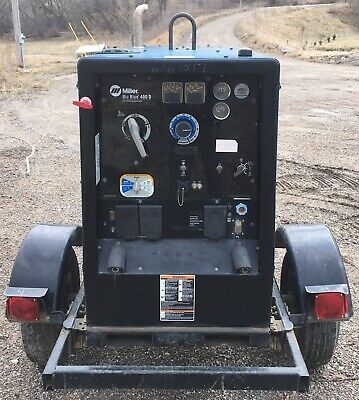 2013 Miller Big Blue 400d Welder Generator Deutz Diesel Engine