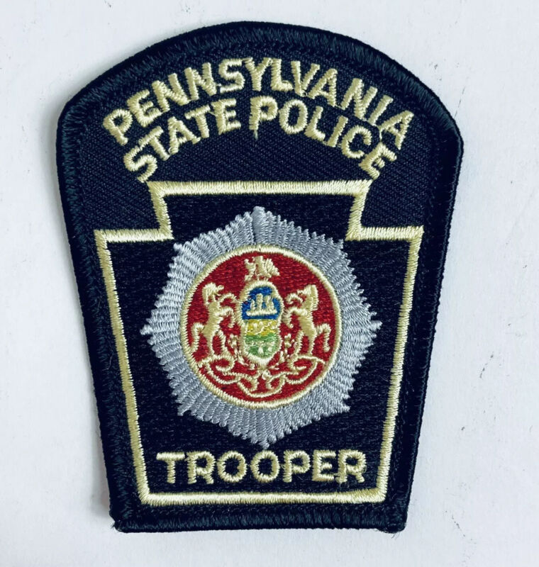 VINTAGE PATCH PENNSYLVANIA STATE TROOPER PATCH