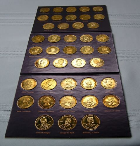 A Coin History of the U S Presidents