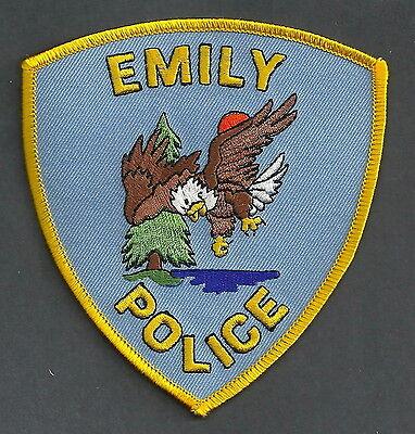 EMILY MINNESOTA POLICE PATCH