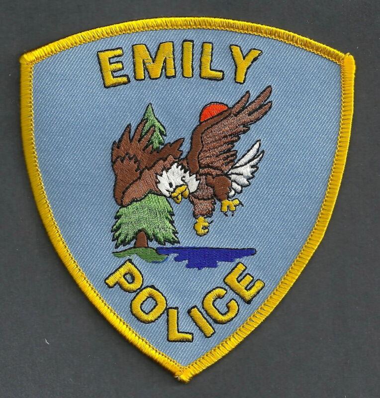 EMILY MINNESOTA POLICE SHOULDER PATCH