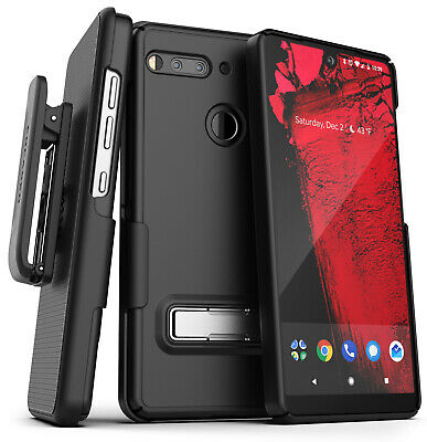 Essential Phone Belt Clip Case with Kickstand Thin Cover w/