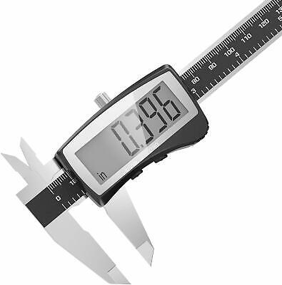 Dr.meter Caliper Digital Lcd Micrometer Digital Stainless Steel Rang 0- 6150mm