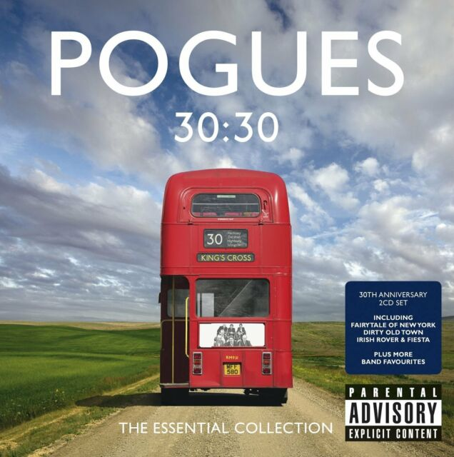 POGUES (NEW 2 CD SET) 30:30 THE ESSENTIAL GREATEST HITS COLLECTION BEST OF [PA]