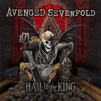 AVENGED SEVENFOLD HAIL TO THE KING 2-LP VINYL SET