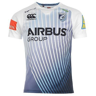 Canterbury Cardiff Blues Alternate Pro SS Jersey 2014-2015 SIZE S Alternate Ss Rugby Jersey