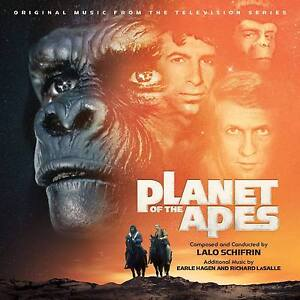 PLANET OF THE APES - 2CD COMPLETE TV SCORE - LIMITED 2000 - LALO SCHIFRIN