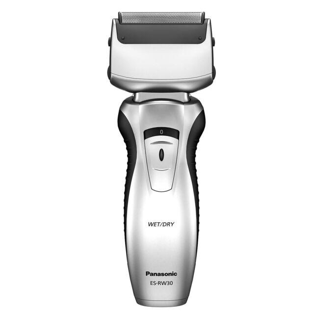 Panasonic ESRW30 Wet Dry Mains Rechargeable Mens Face Electric Shaver Silver New