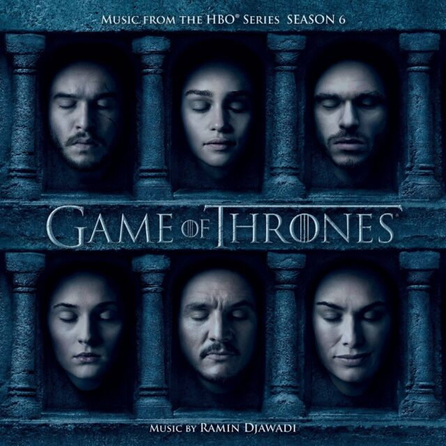 GAME OF THRONES - SEASON 6 soundtrack  (CD) sealed