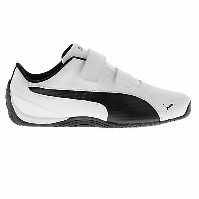 Puma Kids Boys Drift Cat 5 Childs Low Top Strap Trainers Sports Shoes