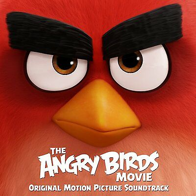 The Angry Birds Movie Original Soundtrack CD Sealed ! New ! 2016 !