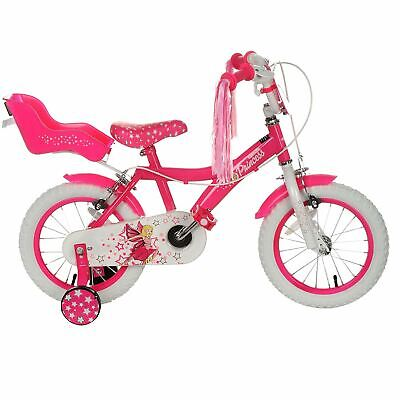 Cosmic Princess 14 Inch Girls Bike Childrens Tassel