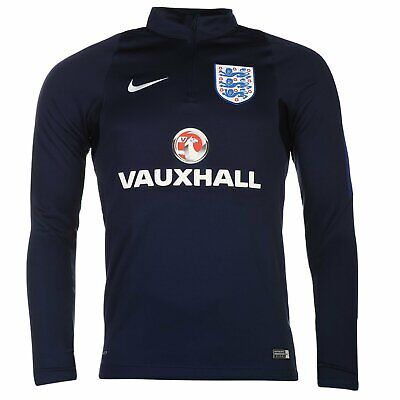 Nike England Mens Drill Training Sweatshirt Mens Navy MEDIUM R613-18