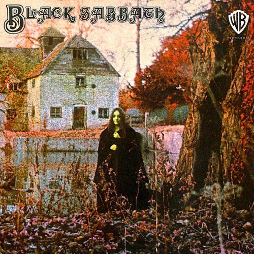 BLACK SABBATH First Album BANNER HUGE 4X4 Ft Fabric PosterTapestry Flag art cd