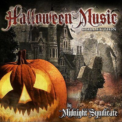 Halloween Music Collection Midnight Syndicate Audio CD Haunted House Party Sound (Midnight Syndicate Halloween Music Collection)