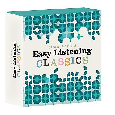 "NEW SEALED! ""Easy Listening Classics"" (10 CD) Box Set Time Life"