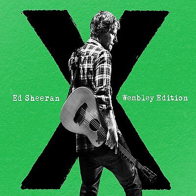 X Wembley Edition   Ed Sheeran Cd   Dvd Set Sealed   New   2015