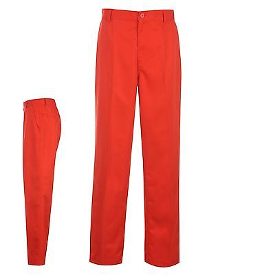 Dunlop Mens Clothing Golf Bright Trousers Pants